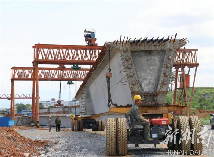 图集|道县:绕城路加紧建设(组图) 新湖南www.hunanabc.com