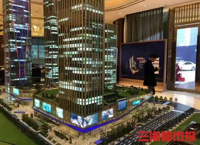 长沙写字楼平均租金86.8元/月/平方米,企业搬迁成为成交的主要驱动力