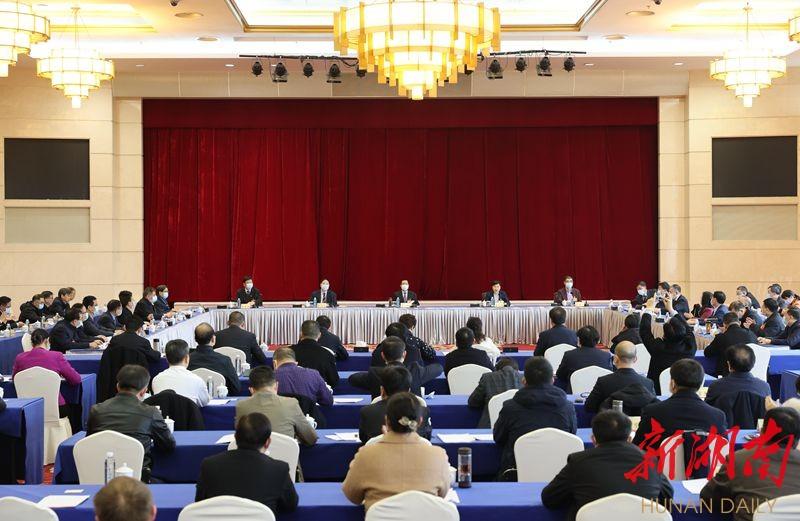 快讯丨许达哲参加省政协十二届四次会议联组讨论 新湖南www.hunanabc.com