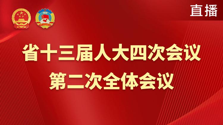 直播回顾>>湖南省十三届人大四次会议第二次全体会议
