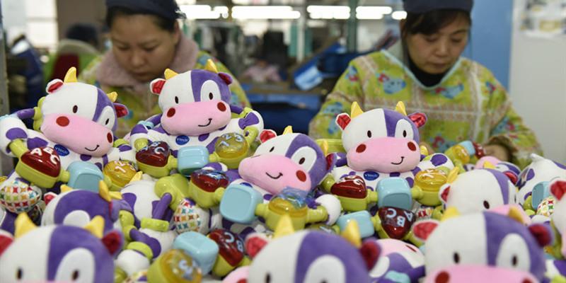 玩具生产忙