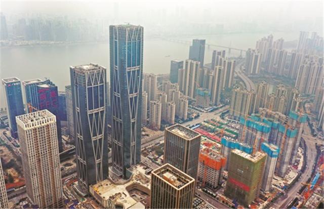 快马扬鞭抓进度!湘江财富金融中心年内有望整体交付