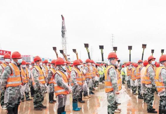 长沙267个重大项目集中开工 总投资1102亿元