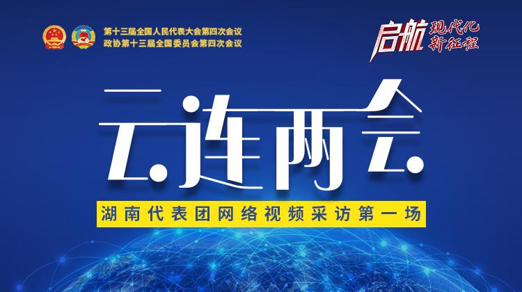 直播回顾>>湖南代表团举行首场网络视频采访,6位代表接受云采访