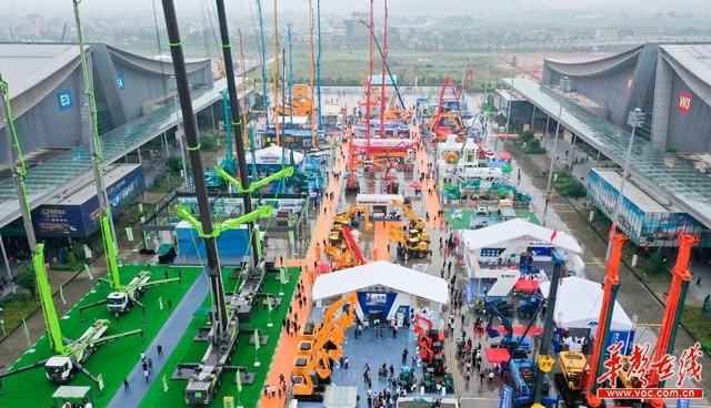 30万平米出现铁甲盛景 2021第esball线上二届长沙国际工程呆板展览会5月启幕