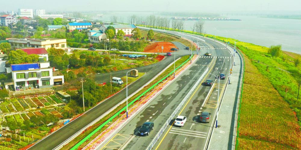 潇湘路北延线一标段建成