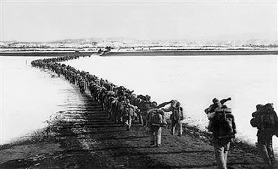 致敬闪耀的足迹⑦:跨过鸭绿江