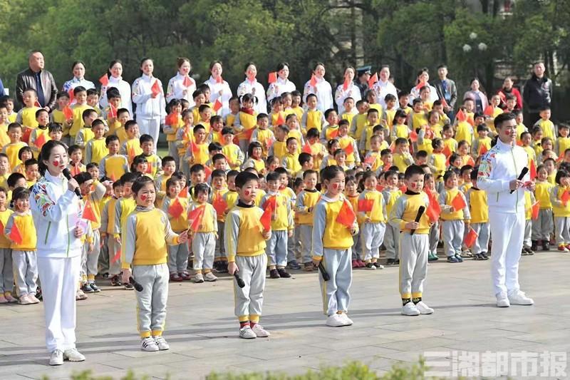 """燃!长沙近400名幼儿用特别的""""仪式""""向祖国告白"""