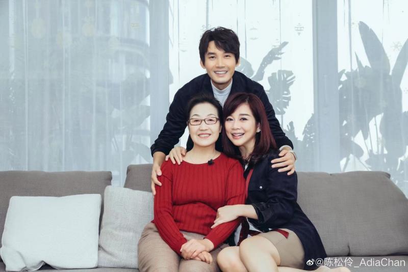 """陈松伶首次回应婆婆""""双标""""质疑:我家是把这当成一个玩笑"""