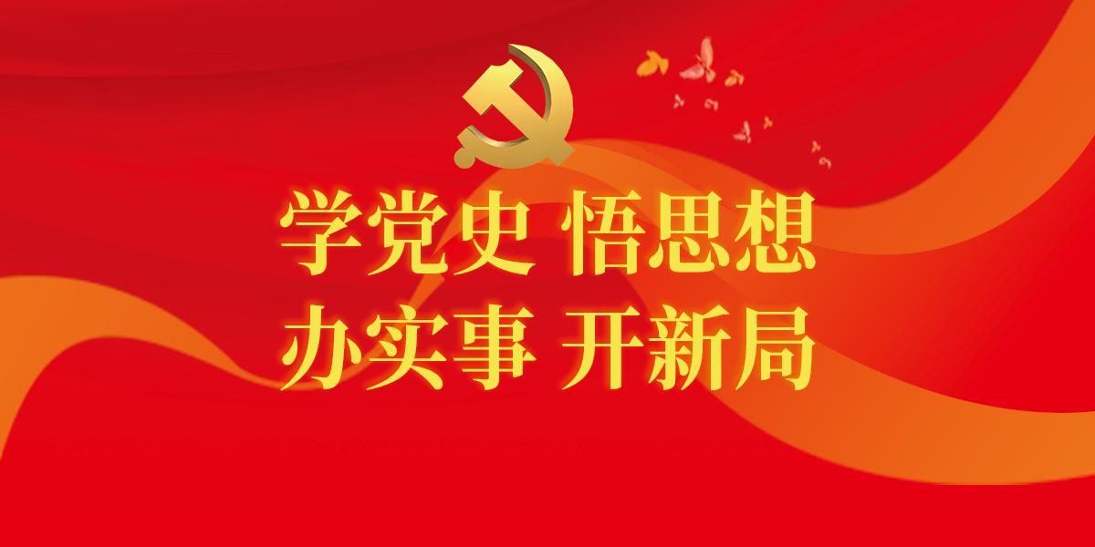 【专题】学党史 悟思想 办实事 开新局