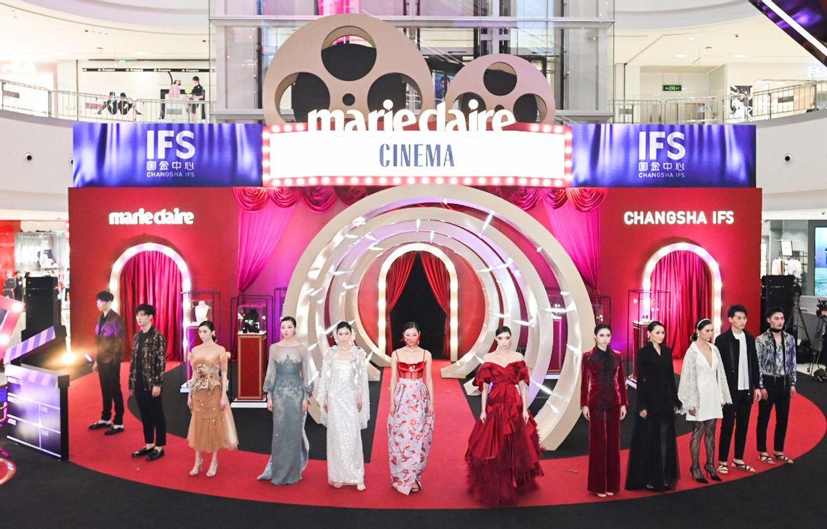 赋予女性新风尚,长沙IFS携手《嘉人Marie Claire》闪耀星城她时代
