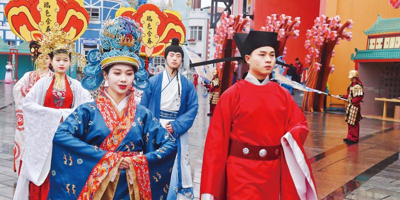 梦回千年 体验华夏汉服文化