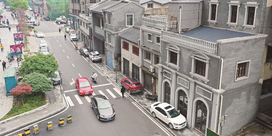 長沙西長街有機更新換新顏