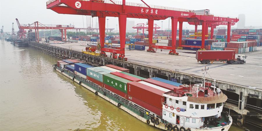 长沙新港一季度集装箱吞吐量同比大幅增长