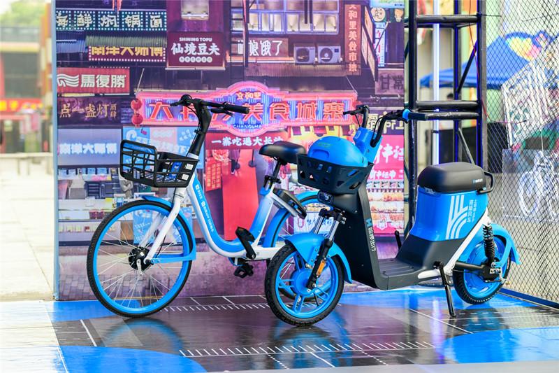 防雨又防盗!配备智能头盔的共享电单车即将现身长沙街头
