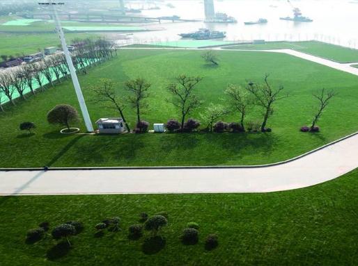 岳阳港口码头生态环境明显改善