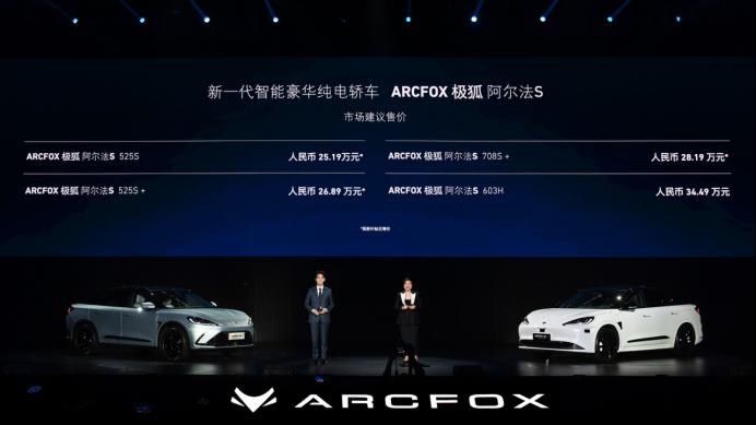 极狐联手华为开启城市自动驾驶时代 25.19万起阿尔法 S圆你梦