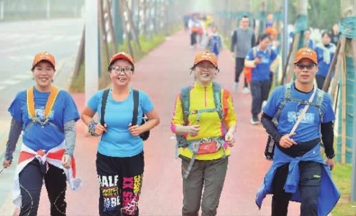 1.2万名毅行者徒步长株潭!2021湖南(春季)百公里活动举行