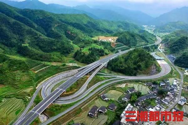沿着高速看湖南丨G0422武深高速炎汝段:衢通罗霄,植入大山深处的发展动脉