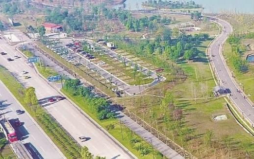 长沙松雅湖周边将新建1300余个停车位