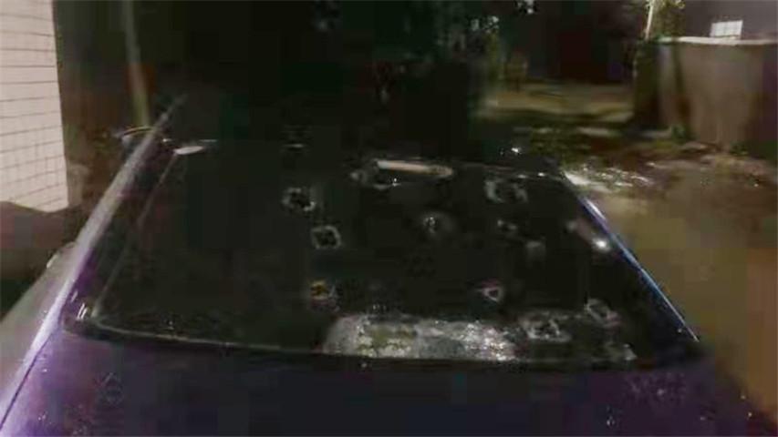 长沙突下冰雹,车被砸坏了保险能赔吗?