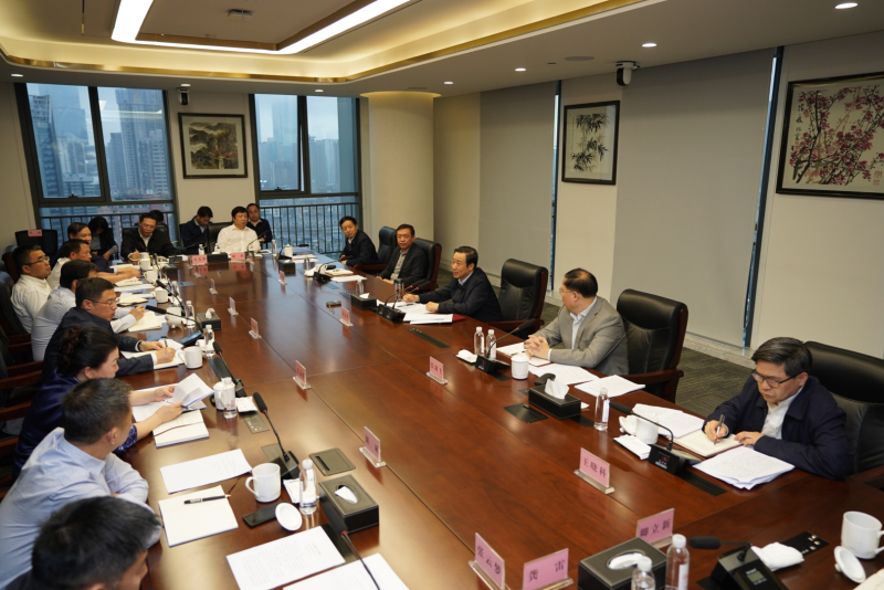许达哲与湖南日报社领导班子座谈交流:着力打造全国一流的新型主流媒体集团