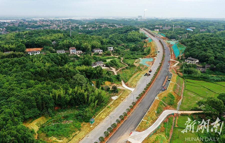 湘江大道北延线二期建设顺利推进