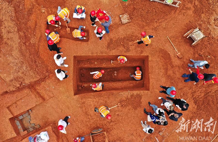 长沙工地发现从汉到唐宋墓葬42座