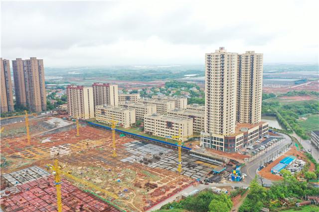 湖南日报丨全省最大规模公租房交付使用 项目着眼智能与绿色,可容纳8000人入住