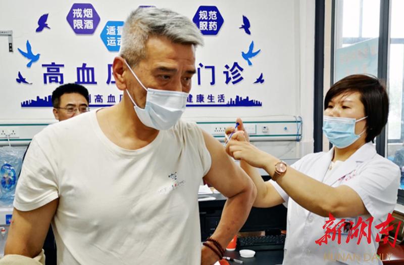 """在湘台胞免费接种新冠疫苗—— """"在湖南接种疫苗,我们倍感安全舒心"""""""