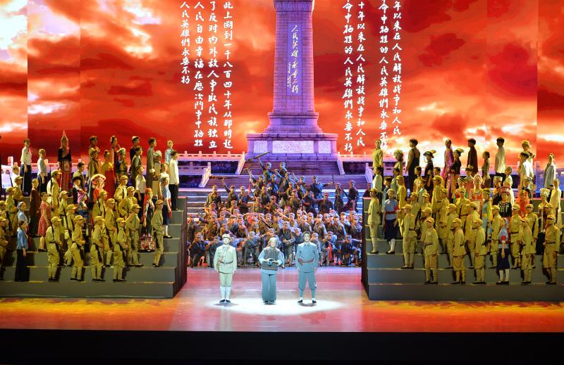 """""""百年正青春""""湖南省庆祝中国共产党成立100周年文艺晚会首演"""