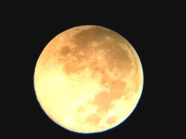 登岳麓山望月