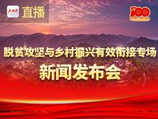 直播回顾>>湖南省庆祝建党100周年系列发布会脱贫攻坚与乡村振兴有效衔接专场