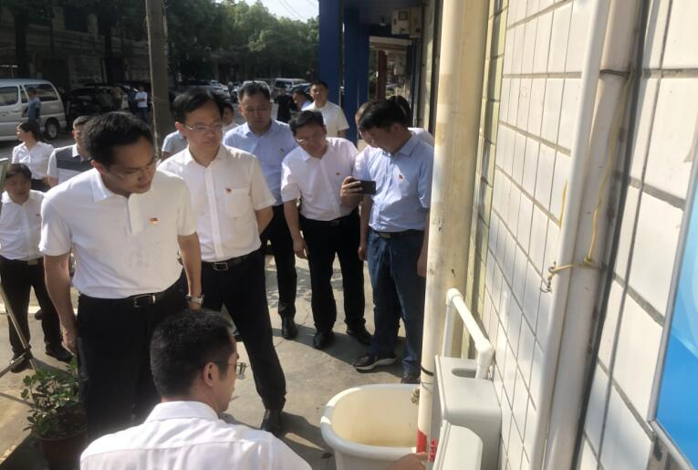 长沙水业集团为开福区新大塘社区271户居民解决用水难题