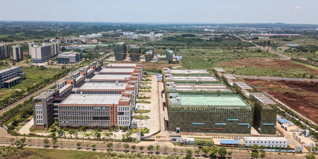 走进自贸港:海口国家高新技术产业开发区