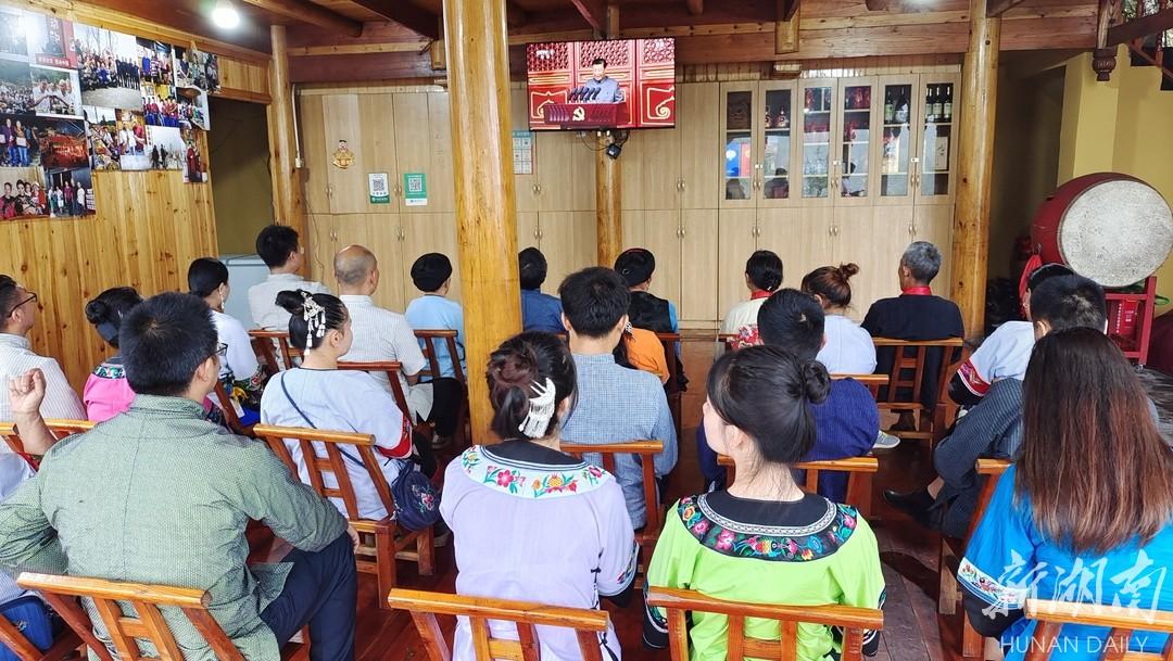 图集丨湖南各界收看庆祝中国共产党成立100周年大会直播