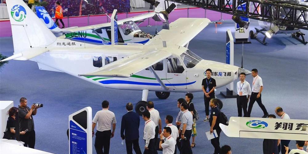 国内外龙头企业云集 周末去打卡湖南(国际)通用航空产业博览会