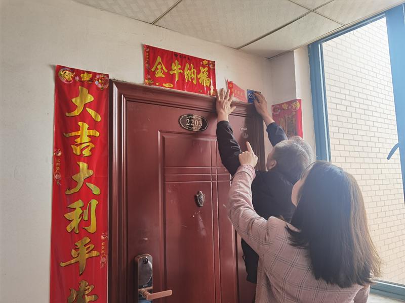 """长沙开福区:社区立""""红色门牌"""",居家""""麻纱""""不用出小区"""