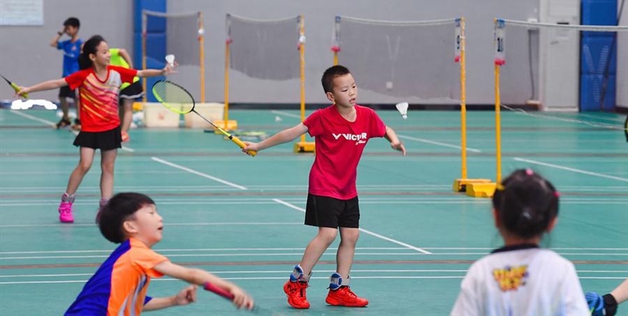 长沙近百处体育场馆向中小学生免费开放