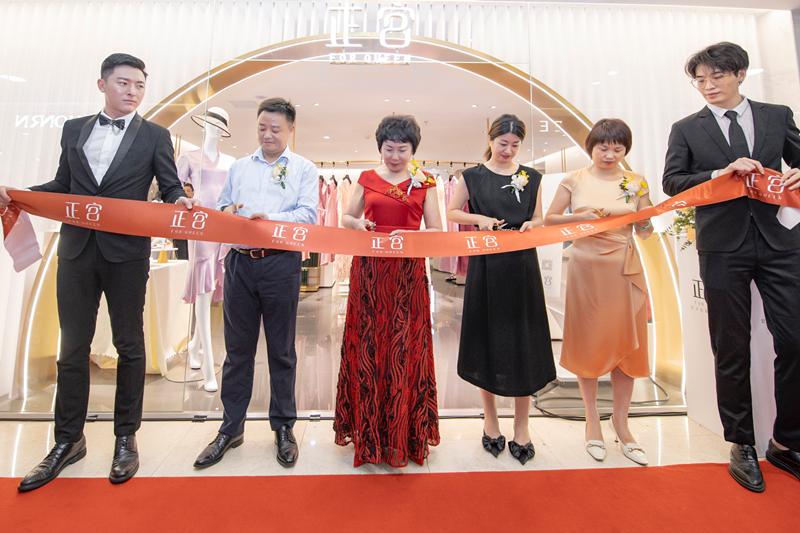 28项数据轻松测,湖南有了智能定制礼服店