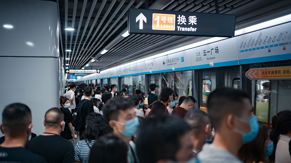 截至8月31日,长沙地铁每逢周五运营时间延长至23时30分