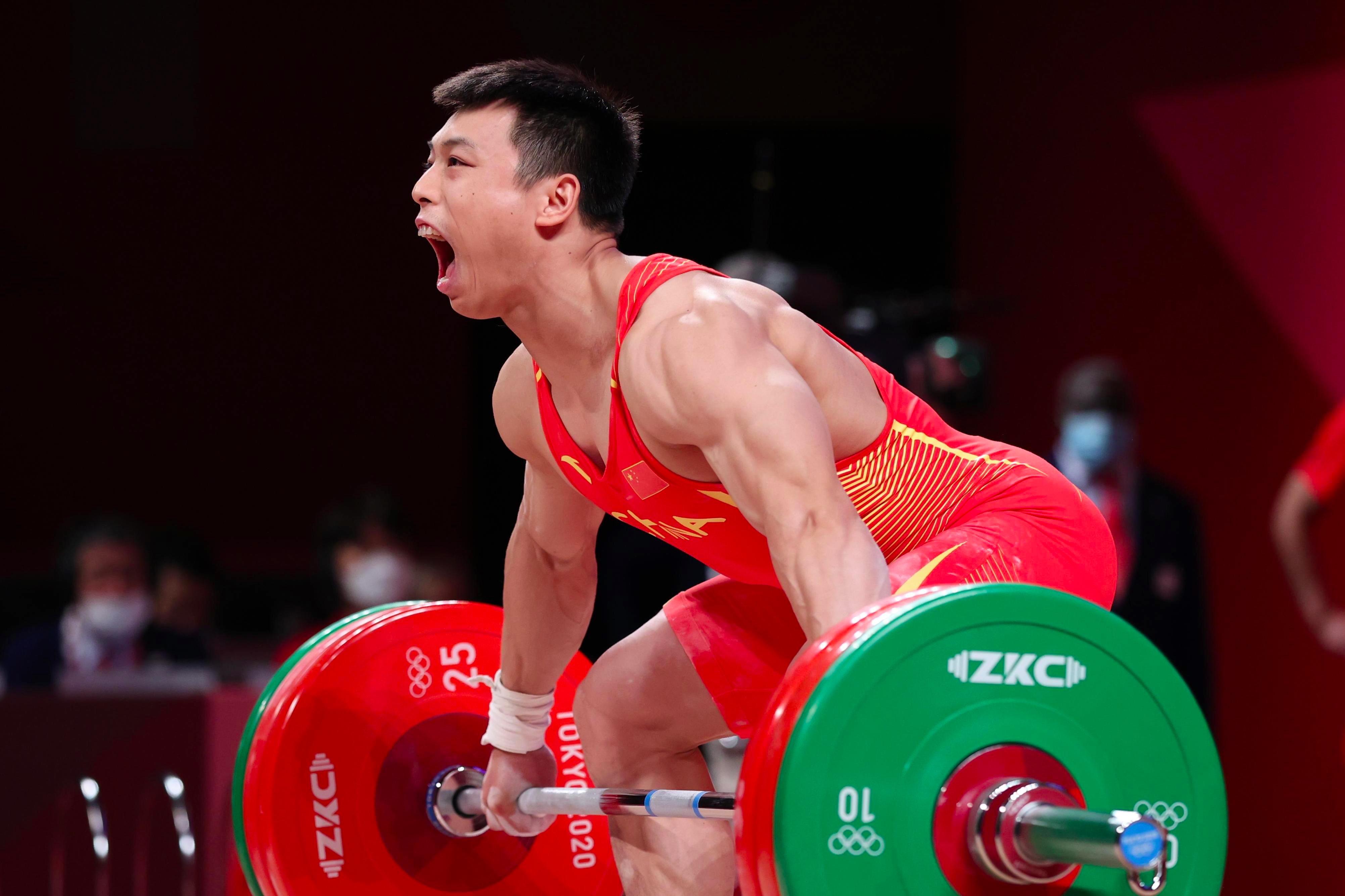 谌利军获举重男子67公斤级冠军 湖南省委省政府发贺电