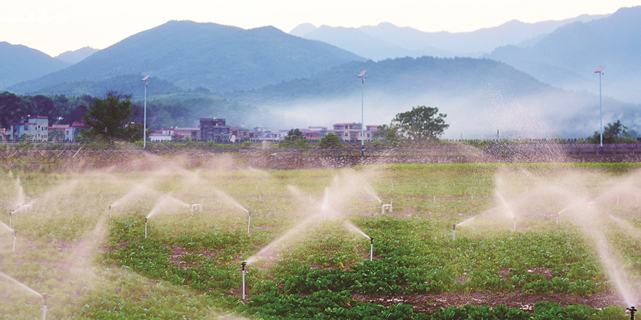 節水灌溉 增收增效