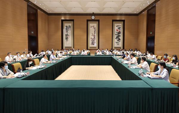 國家統計局2021年第4統計督察組進駐湖南開展統計督察 毛有豐許達哲毛偉明出席對接溝通會