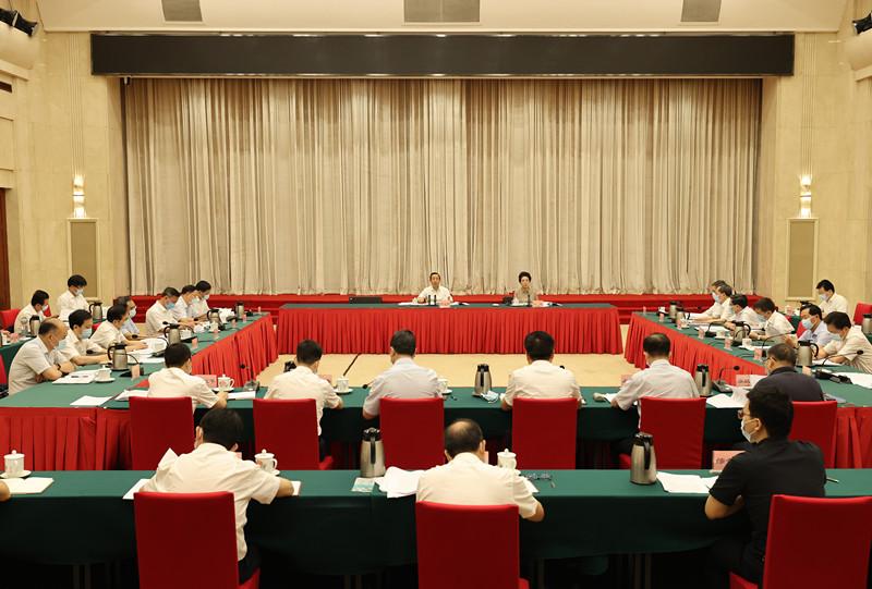 許達哲主持召開省委黨建工作領導小組第二次會議