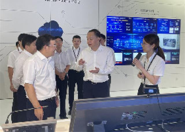 郑建新赴杭州考察走访大华股份和网易集团