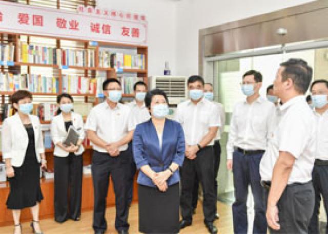吴桂英与一线教育工作者座谈,重点聊了什么?