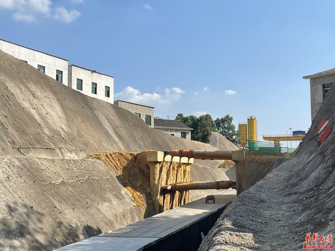 长沙市万家丽路北延线电力隧道明挖段主体完工