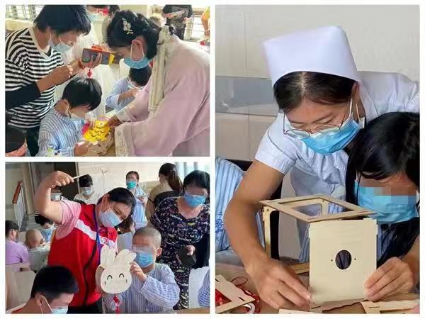 """暖!为缓解小患者的""""思亲""""之情,湘雅二医院举行中秋节系列活动"""