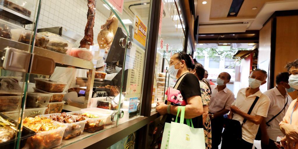 上海:老字号里选美食 中秋佳节添滋味